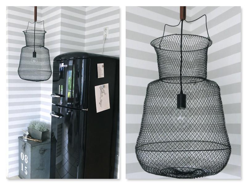 DIY Kescher Lampe