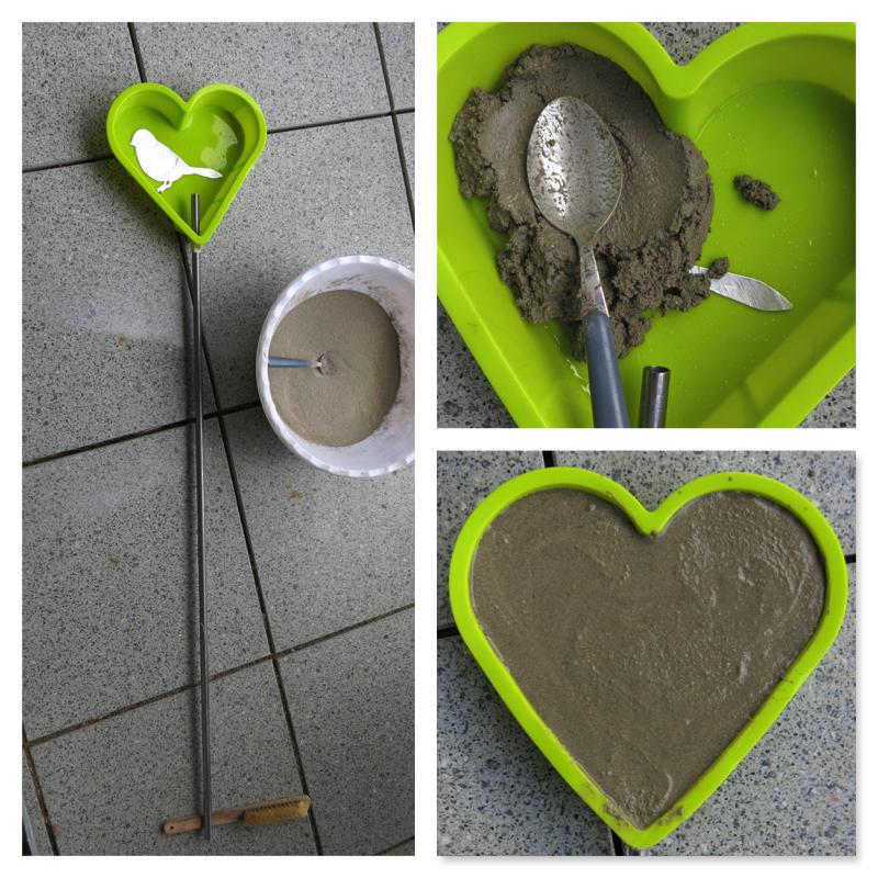 Ein Herz Für Mütter Gartenherz Aus Beton Selber Machen 107qm