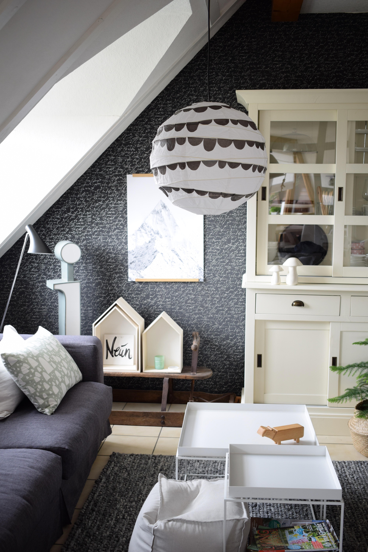 DIY-Eine neue Lampe für´s Kinderzimmer ! - 107qm-schwarz auf weiß