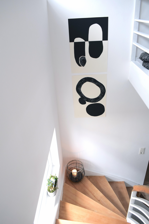 Zu Hause - 107qm-schwarz auf weiß