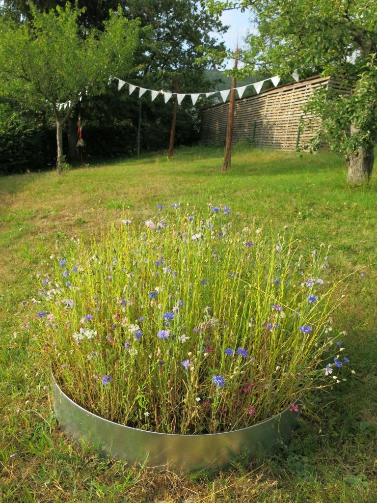 Ideen für einen gemütlichen Garten – 107qm schwarz auf weiß